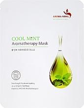 "Fragrances, Perfumes, Cosmetics Face Sheet Mask ""Mint"" - Aroma Yong Aromatherapy Mask Cool Mint"
