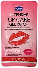 Fragrances, Perfumes, Cosmetics Lip Hydrogel Patches - Purederm Intensive Lip Care Gel Patch