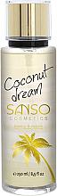 "Fragrances, Perfumes, Cosmetics Body Spray ""Coconut Dream"" - Sanso Cosmetics Coconut Dream Body Spray"