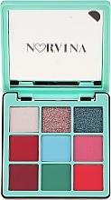 Fragrances, Perfumes, Cosmetics Eyeshadow Palette - Anastasia Beverly Hills Norvina Pro Pigment Mini №3