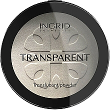 Fragrances, Perfumes, Cosmetics Compact Transparent Powder - Ingrid Cosmetics HD Beauty Innovation Transparent Powder