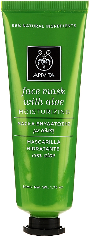 Aloe Moisturizing Mask - Apivita Moisturizing Mask