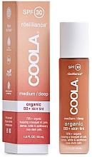 Fragrances, Perfumes, Cosmetics Face BB Cream - Coola Rosilliance Organic BB+ Cream SPF30 (Medium/Dark)