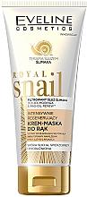 Fragrances, Perfumes, Cosmetics Intense Hand Repair Cream-Mask - Eveline Cosmetics Royal Snai