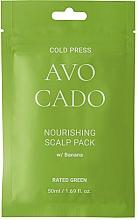Fragrances, Perfumes, Cosmetics Nourishing Avocado & Banana Scalp Mask - Rated Green Cold Press Avocado Nourishing Scalp Pack