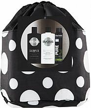 Fragrances, Perfumes, Cosmetics Set - Syoss Salon Plex (shm/500ml + balm/500ml + sh/200ml + pouch)