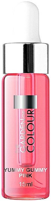 Nail & Cuticle Oil with Pipette - Silcare Garden of Colour Cuticle Yummy Gummy Pink