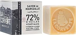 "Fragrances, Perfumes, Cosmetics Soap ""Pure"", in pack - La Corvette Savon de Marseille Extra Pur"