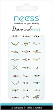 Fragrances, Perfumes, Cosmetics Nail Art Stickers, 3710 - Neess Diamondneess
