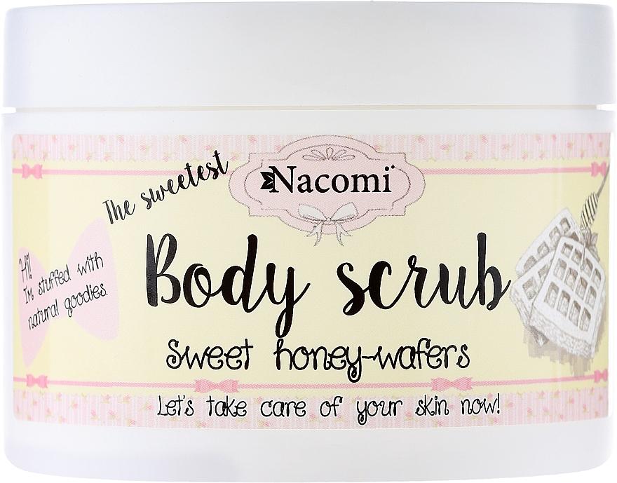 "Washing Peeling Foam ""Sweet Honey Wafers"" - Nacomi Body Scrub Sweet Honey Wafers"