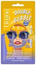 Fragrances, Perfumes, Cosmetics Vitamin C Clay Bubble Mask - Lirene Double Bubble Mask