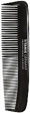 Fragrances, Perfumes, Cosmetics Men Pocket Hair Comb, 12,5 cm, black - Titania Havannah