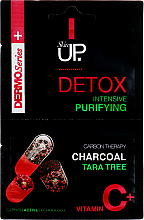 Fragrances, Perfumes, Cosmetics Intensive Purifying Face Mask with Charcoal, Tara Tree & Vitamin C - Verona Laboratories DermoSerier Skin Up Face Mask