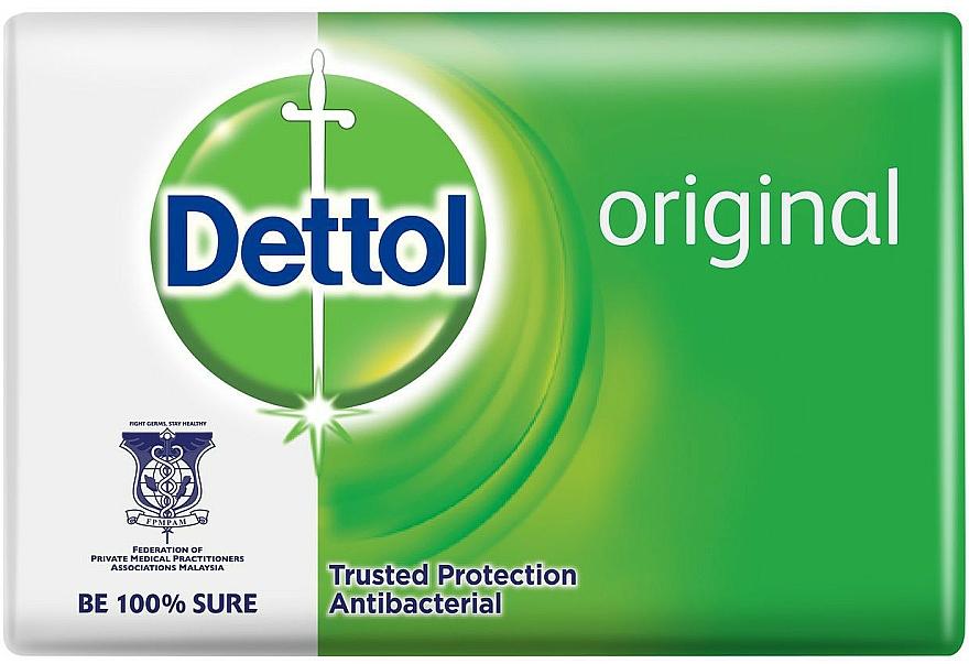 Antibacterial Soap with Pine Scent - Dettol Anti-bacterial Original Bar Soap