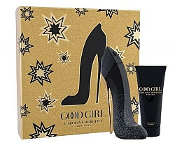 Fragrances, Perfumes, Cosmetics Carolina Herrera Good Girl Supreme - Set (edp/80ml + b/lot/100ml)