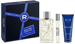 Fragrances, Perfumes, Cosmetics Rochas Eau de Rochas Homme - Set (edt/100ml + sh/gel/100ml + edt/20ml)