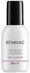 Set - Semilac Hybrid Manicure Set (lamp + n/base/3ml + n/top/3ml + n/polish/3ml + n/cl/50ml + n/aceton/50ml + n/rem/wraps/50pc + n/pads/200pc + n/file/1pc + n/sticks/10pc) — photo N6