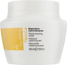 Fragrances, Perfumes, Cosmetics Restructuring Mask for Dry Hair - Fanola Nutri Care Restructuring Mask
