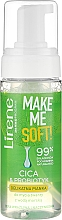 Fragrances, Perfumes, Cosmetics Face Wash Foam - Lirene Make Me Soft Cica & Probiotyk