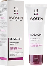 Fragrances, Perfumes, Cosmetics Soothing Day Cream - Iwostin Rosacin Soothing Day Cream Against Redness SPF 15