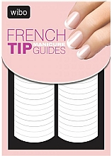 Fragrances, Perfumes, Cosmetics French Manicure Stensil-Sticker - Wibo French Manicure Tip Guides