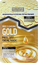 Fragrances, Perfumes, Cosmetics Face Mask - Beauty Formulas Deep Cleansing Gold Peel Off Facial Mask