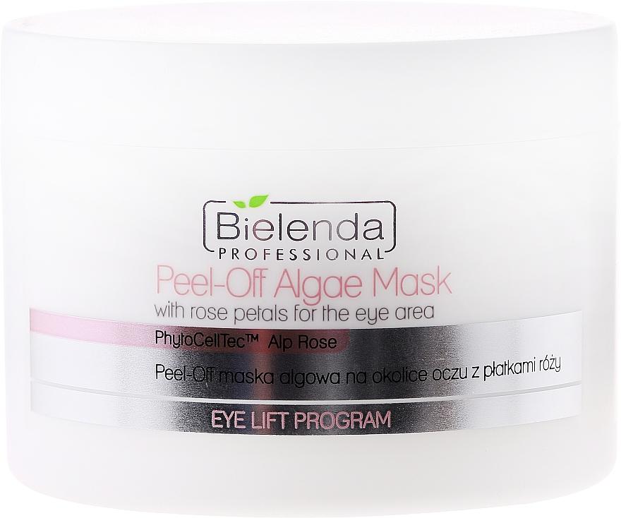 Alginate Eye Mask with Rose Petals - Bielenda Professional Eye Lift Program Peel-Off Algae Mask