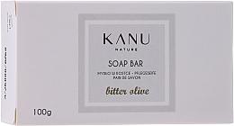 "Fragrances, Perfumes, Cosmetics Hand & Body Soap Bar ""Bitter Olive"" - Kanu Nature Soap Bar Bitter Olive"