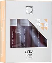 Fragrances, Perfumes, Cosmetics Liquid Matte Lipstick Set - Ofra Espresso Lip Set (lipstick/3x8g)
