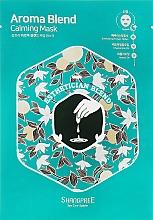 Fragrances, Perfumes, Cosmetics Soothing Facial Sheet Mask - Shangpree Aroma Blend Calming Mask