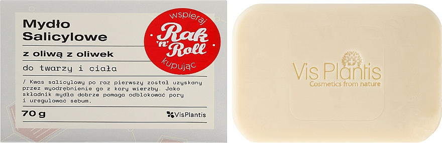 Problem Skin Soap - Vis Plantis Soaps Salicylic Soap With Olive Oil For Face And Body Problem Skin