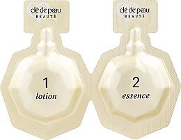 Set - Cle De Peau Illuminating Concentrate Set (f/lot/6x3ml + f/essence/6x2ml + f/mask/6pcs) — photo N1