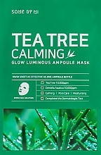Fragrances, Perfumes, Cosmetics Tea Tree Soothing Mask - Some By Mi Tea Tree Calming Glow Luminous Ampoule Mask