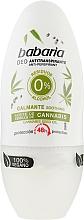 Fragrances, Perfumes, Cosmetics Cannabis Roll-On Deodorant - Babaria Cannabis Deodorant Roll-on