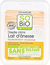 Fragrances, Perfumes, Cosmetics Shower Cream with Donkey Milk - So'Bio Etic Cream Shower