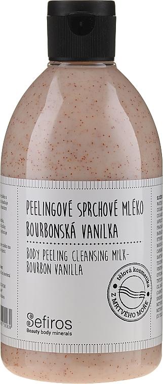 Shower Milk - Sefiros Body Peeling Cleansing Milk Bourbon Vanilla