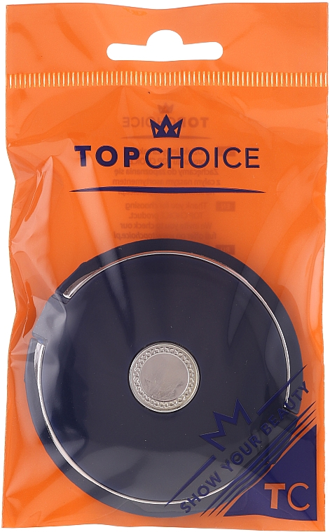 Double-Sided Cosmetic Mirror, dark blue, 5565 - Top Choice — photo N1