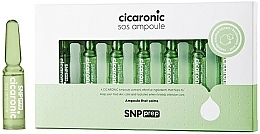 Fragrances, Perfumes, Cosmetics Soothing Face Ampoules - SNP Prep Cicaronic SOS Ampoule