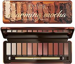 Fragrances, Perfumes, Cosmetics Eyeshadow Palette - Eveline Cosmetics Charming Mocha Eyeshadow