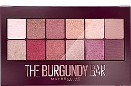 Fragrances, Perfumes, Cosmetics Eyeshadow Palette - Maybelline The Burgundy Bar Palette