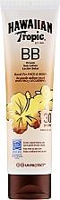 Fragrances, Perfumes, Cosmetics Sun Lotion for Face and Body - Hawaiian Tropic BB Cream Sun Lotion Face And Body Spf30