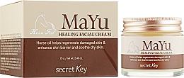 Fragrances, Perfumes, Cosmetics Regenerating Horse Oil Cream - Secret Key MAYU Healing Facial Cream