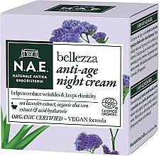 Fragrances, Perfumes, Cosmetics Night Face Cream - N.A.E. Bellezza Anti-Age Night Cream