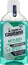 Fragrances, Perfumes, Cosmetics Anti-Plaque Mouthwash - Pasta Del Capitano Plaque Remover Mouthwash