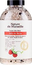 Fragrances, Perfumes, Cosmetics Bath Salt with Strawberry Flavor - Nature de Marseille