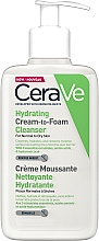 Fragrances, Perfumes, Cosmetics Moisturizing Cleansing Cream-Foam - CeraVe Hydrating Cream To Foam Cleanser For Normal To Dry Skin