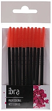 Fragrances, Perfumes, Cosmetics Makeup Spoolie, 10 pcs, orange - Ibra