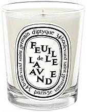 Fragrances, Perfumes, Cosmetics Scented Candle - Diptyque Feuille de Lavande Candle