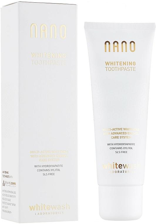 "Toothpaste ""Whitening+Remineralization with Hydroxyapatite"" - WhiteWash Laboratories Nano Whitening Toothpaste"