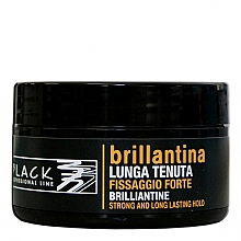 Fragrances, Perfumes, Cosmetics Hair Wax - Black Professional Line Brilliantine Strong And Long Lasting Hold